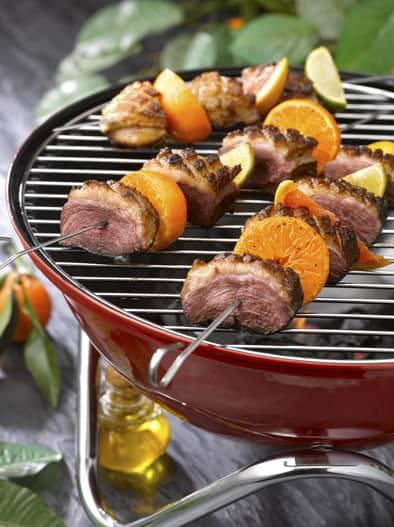 Barbecue au Magret - PH.ASSET / CIFOG / ADOCOM-RP