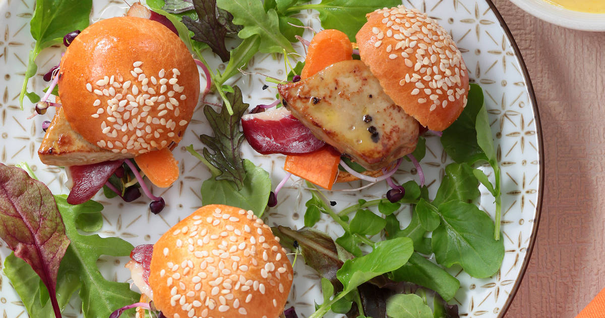 Burger de Magret de canard - Ph.ASSET / CIFOG / ADOCOM-RP