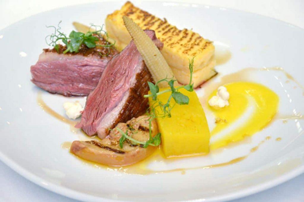 magret et foie gras en deux cuissons