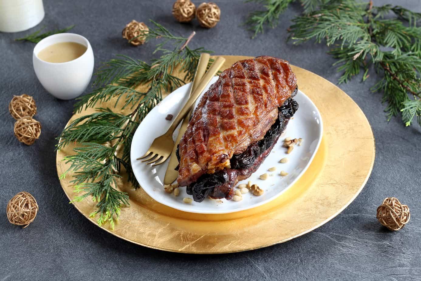 le Magret de canard aux fruits secs et sauce à la fève Tonka ©750g