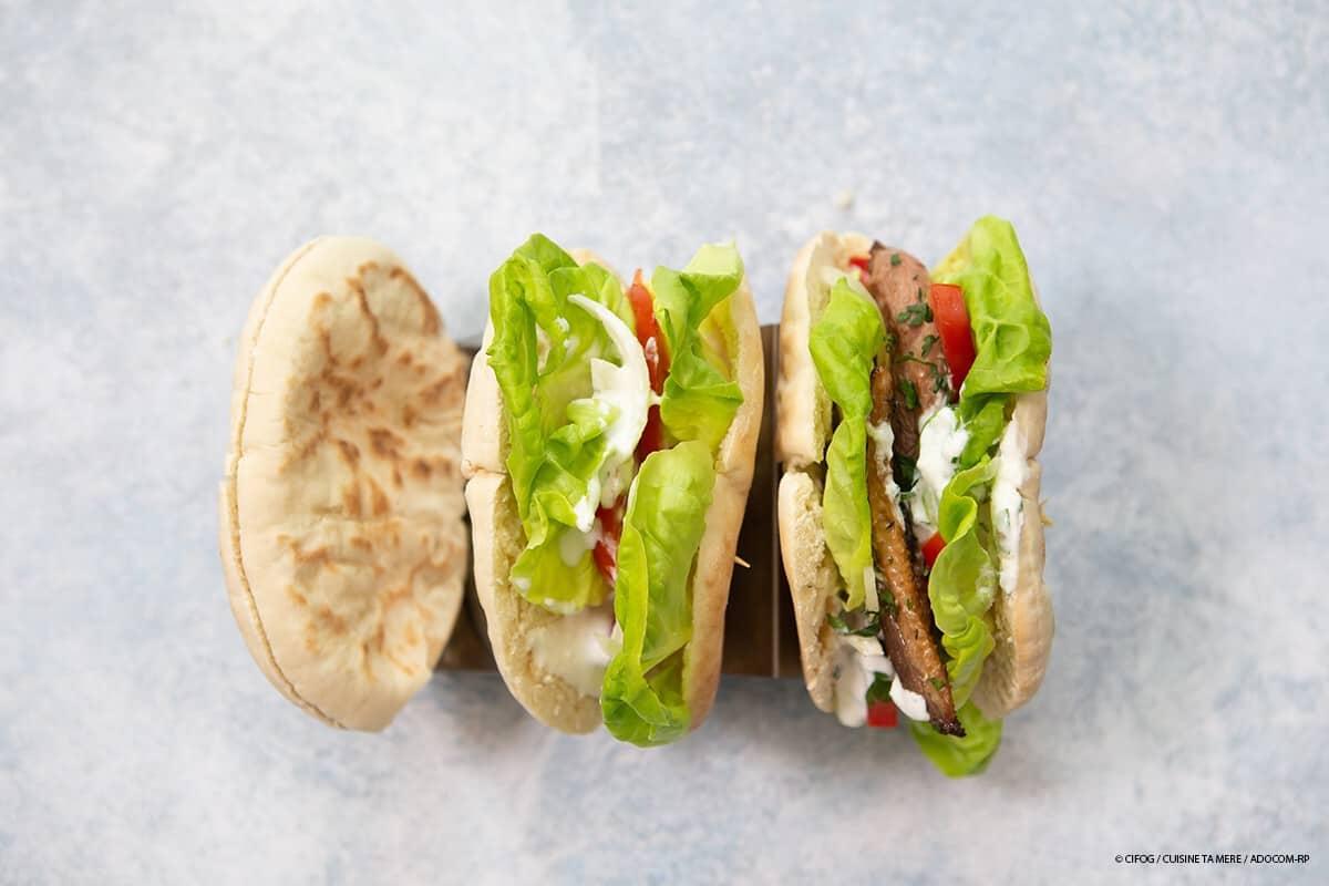Kebab au Magret de canard - ©CIFOG / CUISINE TA MERE / ADOCOM-RP