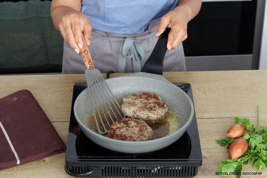 Bagels de steak haché au Magret de Canard - @CIFOG / 750G / ADOCOM-RP